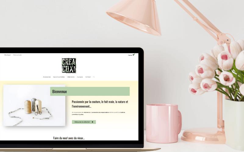 Assistance WordPress et personnalisation de la boutique creacox.com